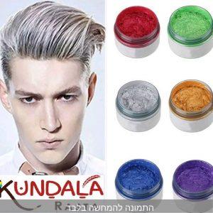 ווקס צבעוני לשיער – יורד בשטיפה