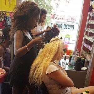 תחזוקת תוספות השיער במספרת קונדלראסטה