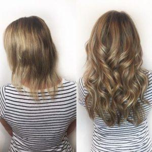 תוספות שיער לפני ואחרי נלקח במקור מפינטרסט